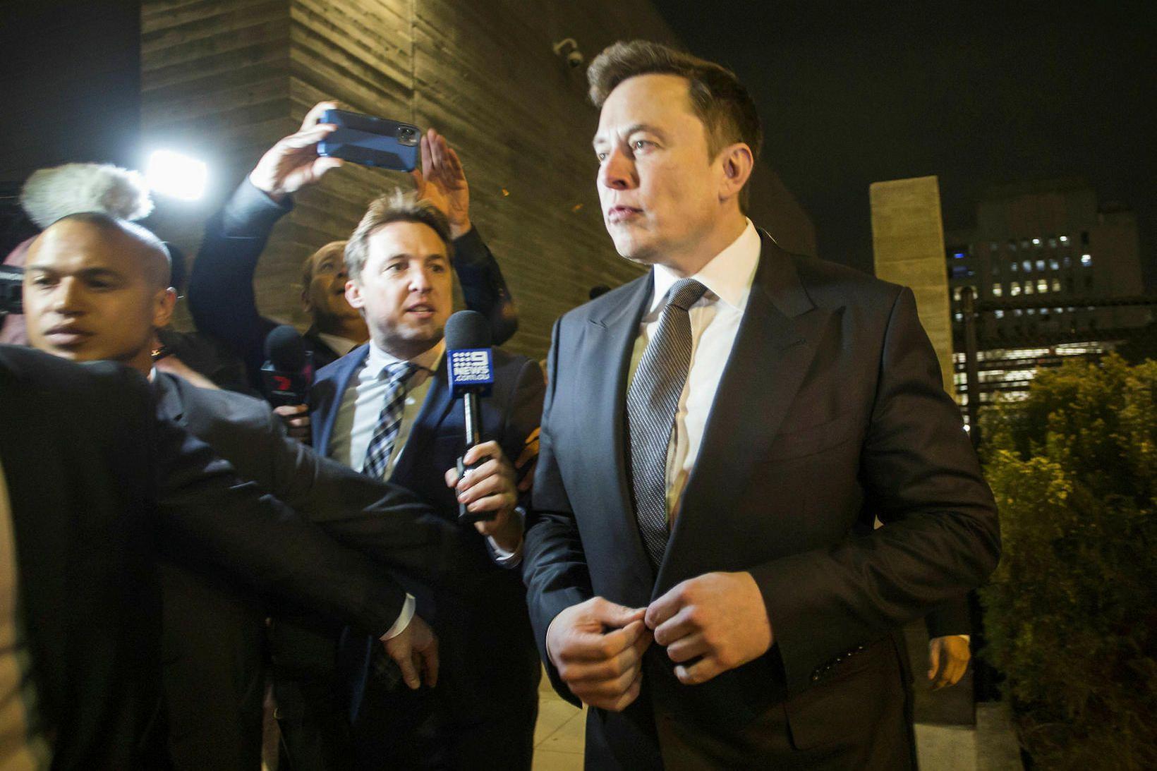 Elon Musk þarf ekki að greiða bætur vegna ummæla sinna …