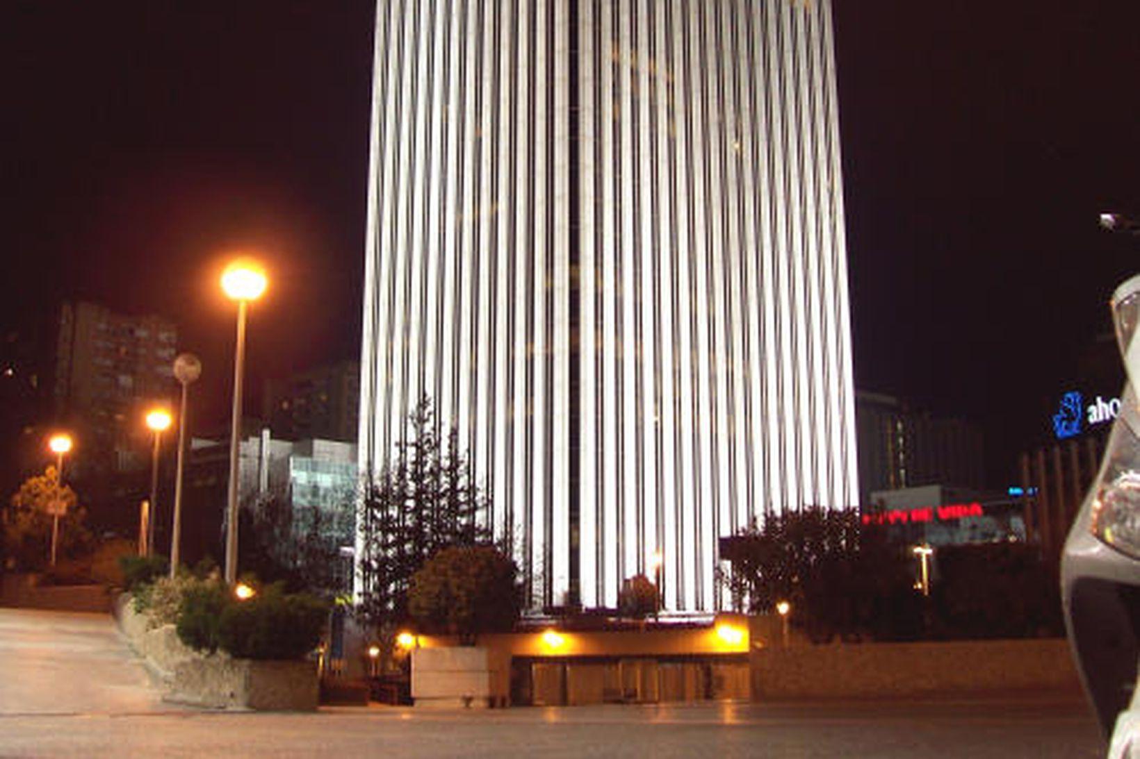 Skýjakljúfurinn Torre Picasso er ein af stærstu byggingum Madridar.