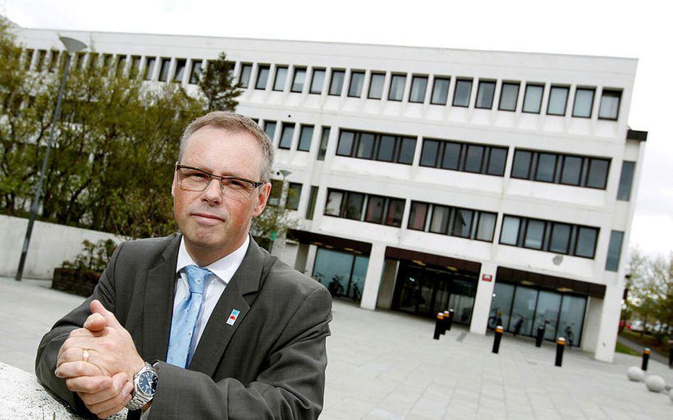 Páll Matthíasson, forstjór Landspítala, segir ekki hægt að komast hjá ...