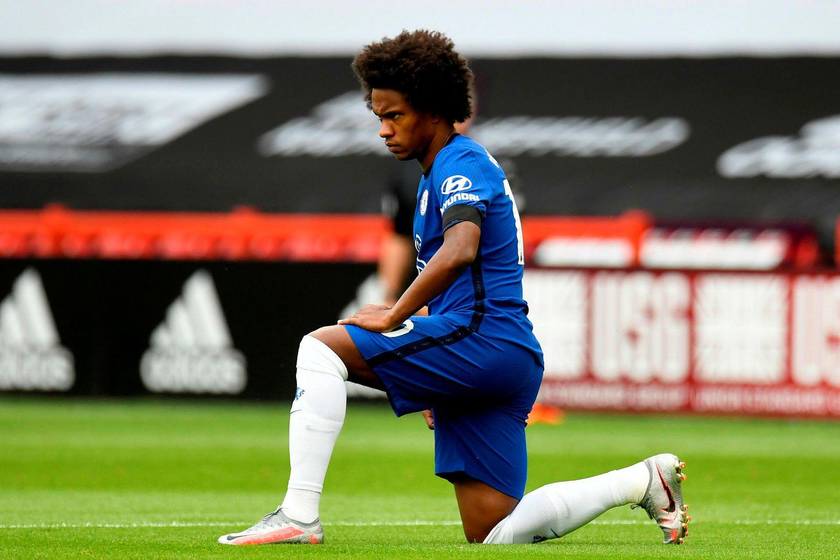 Willian er á förum frá Chelsea.