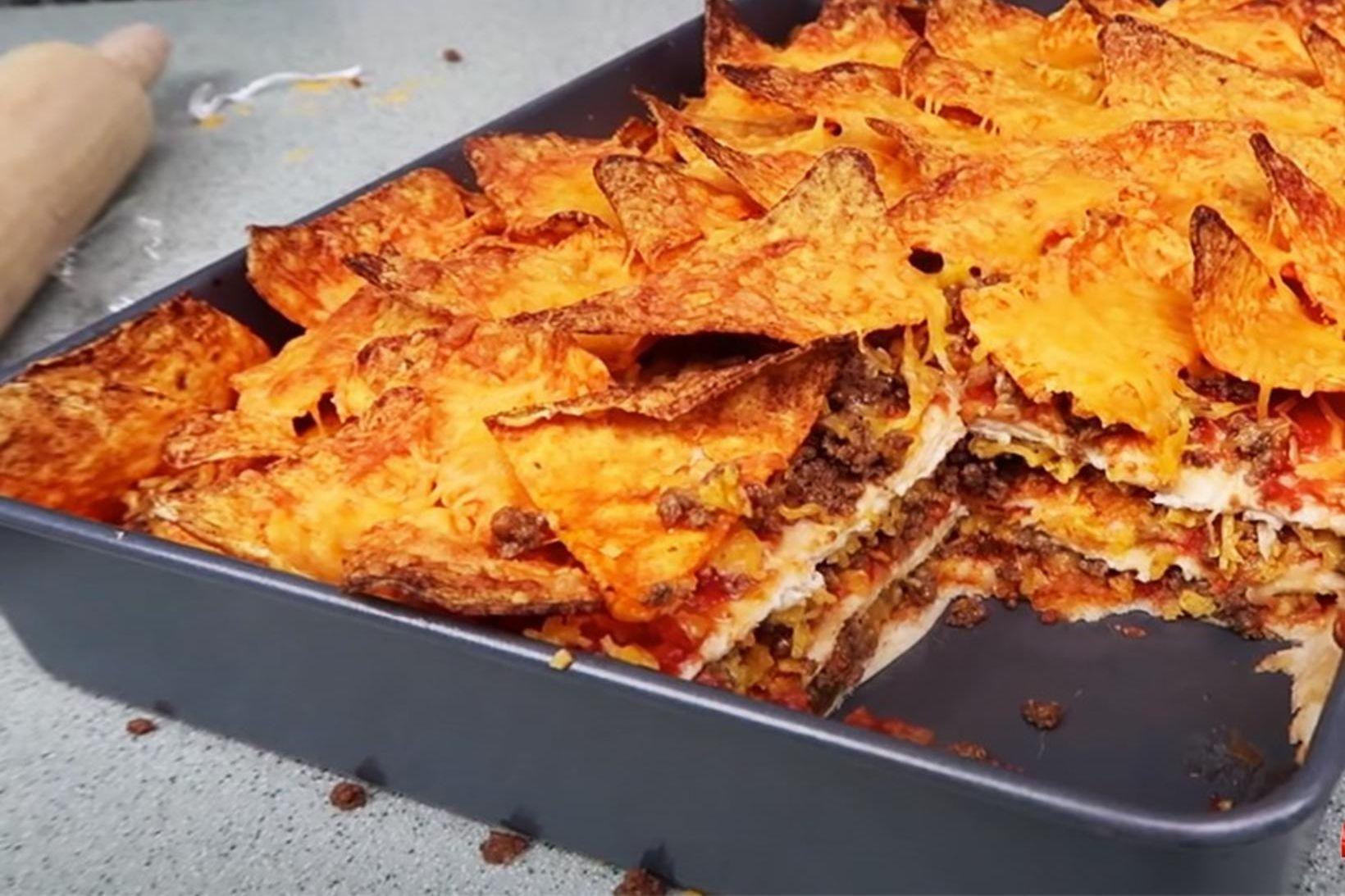Sjúklega girnileg lasagne uppskrift.