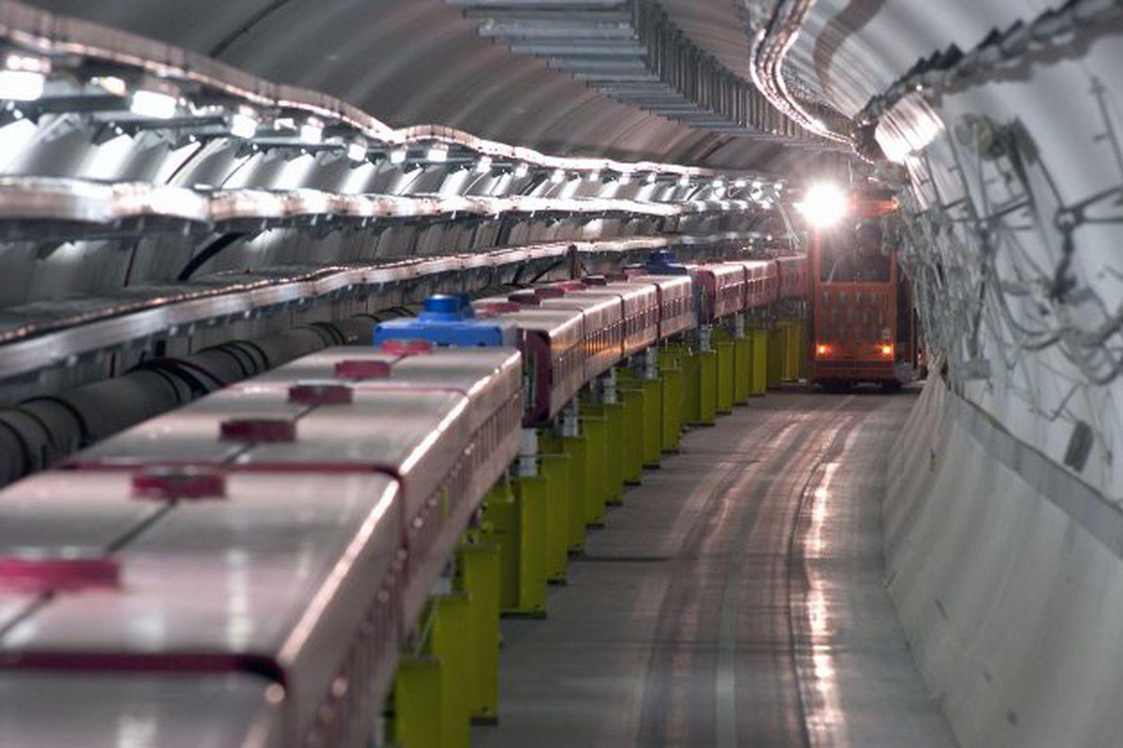Öreindahraðall CERN.