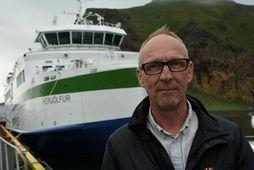 Guðbjartur Ellert Jónsson, framkvæmdastjóri Vestmannaeyjaferjunnar Herjólfs ohf.