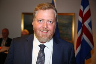 Sigmundur Davíð Gunnlaugsson, formaður Miðflokksins.