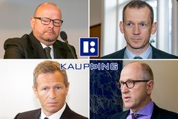 The Kaupþing four convicted of breach of trust and market abuse in December 2013.