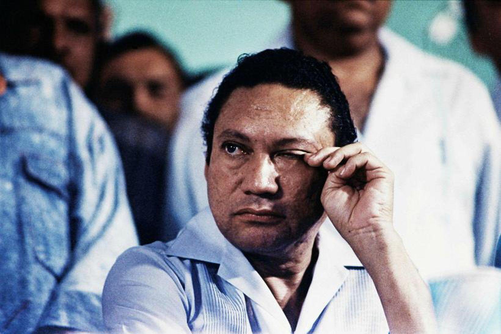 Manuel Antonio Noriega árið 1988.