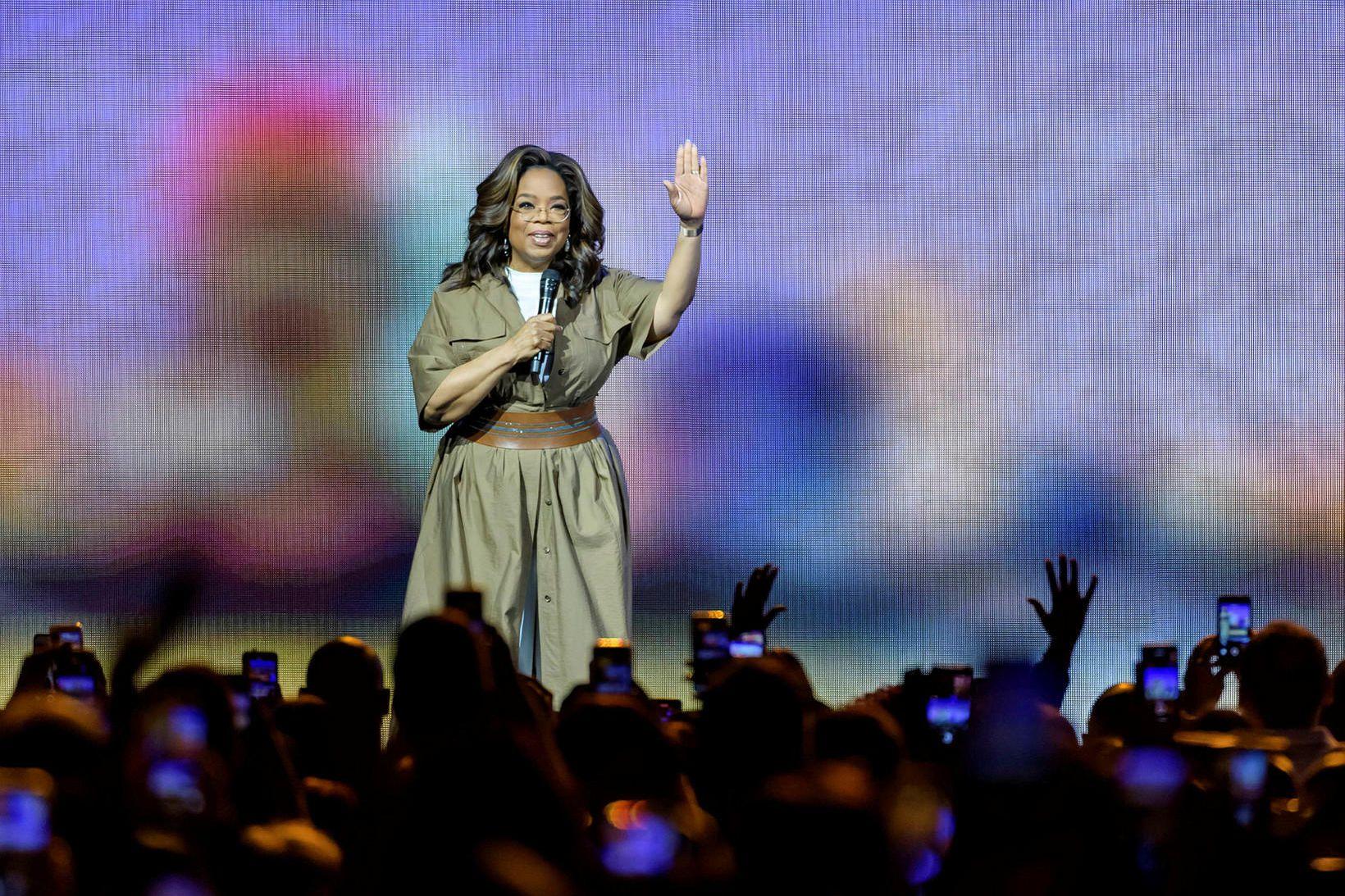 Oprah Winfrey segir ekkert til í þeim sögusögnum að hún …