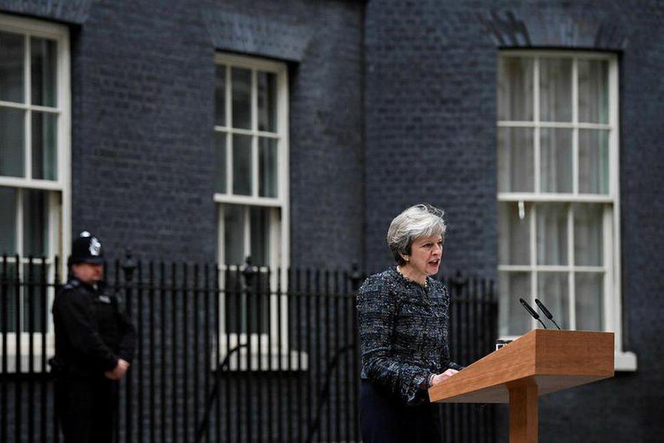 Theresa May forsætisráðherra Bretlands segir
