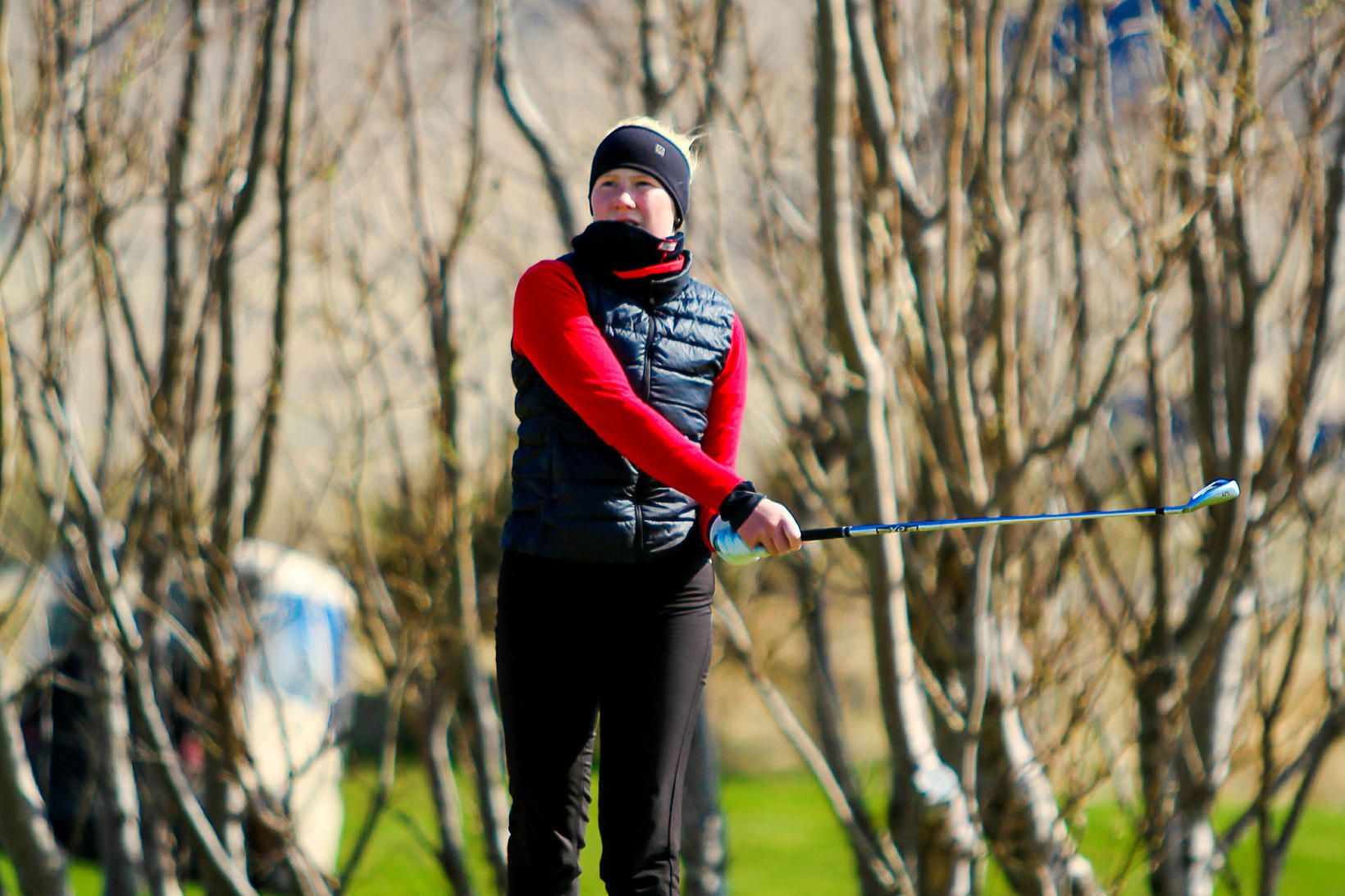 Jóhanna Lea Lúðvíksdóttir hefur spilað frábært golf í Skotlandi.
