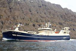 Nýr Börkur kom til Norðfjarðar í dag.