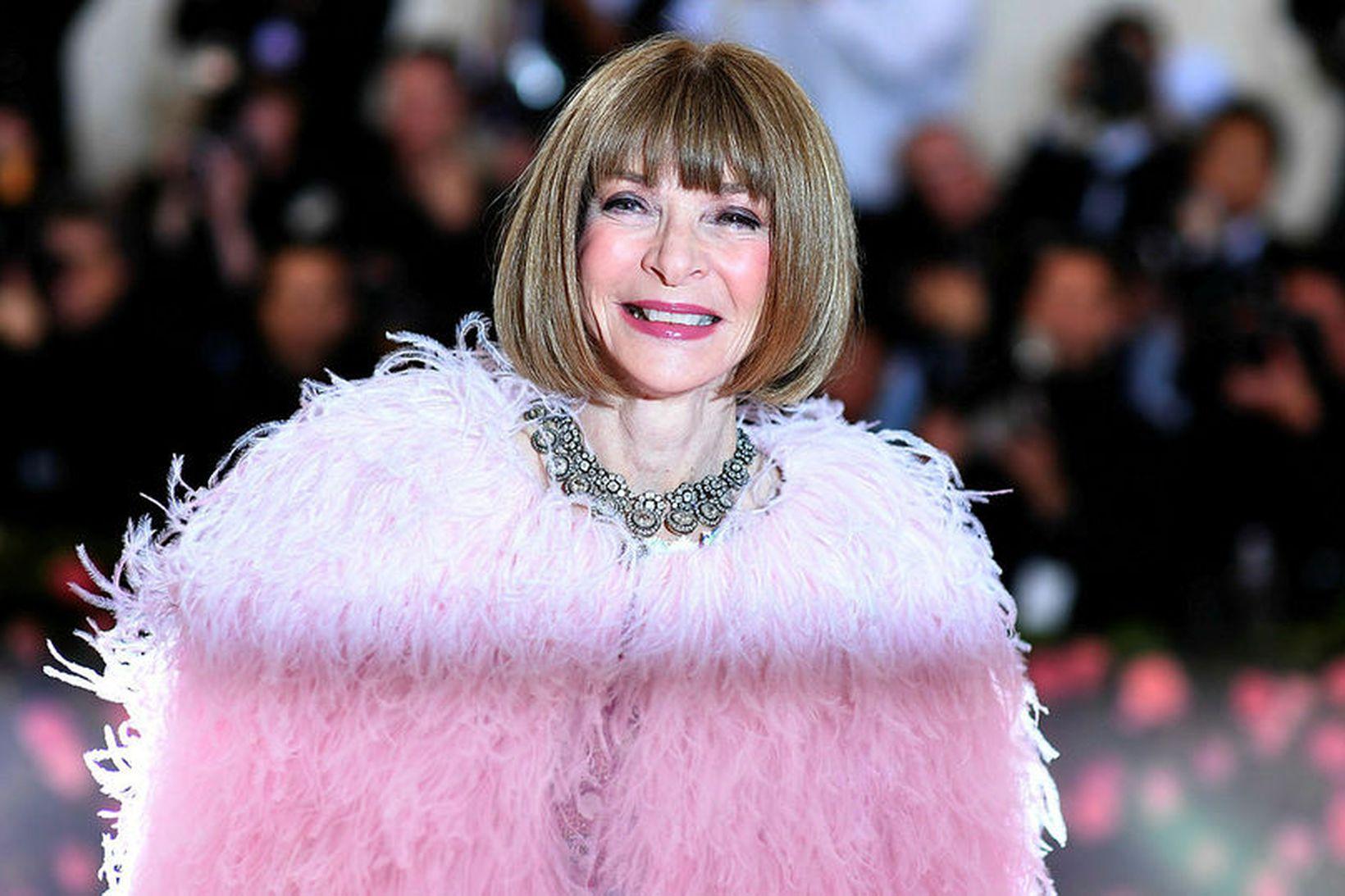Anna Wintour, ritstjóri Vogue, er forseti stjórnar Met Gala.