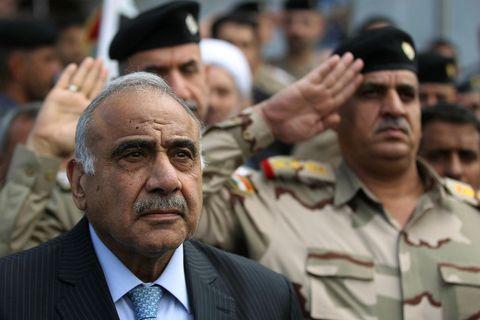 Adel Abdel Mahdi, forsætisráðherra Íraks.