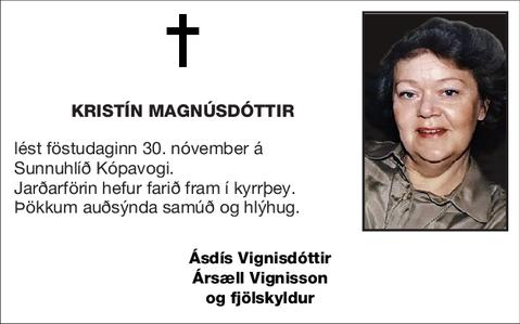 Kristín Magnúsdóttir