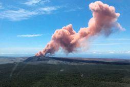 Eldfjallið Kilauea á Hawaii.