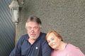 Systkini Oddur Jónsson og Kathleen Holmes njóta samvista á Íslandi eftir að þau hittust í fyrsta sinn en stutt er síðan Kathy vissi af tilvist Odds.