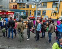 """A trip to the  Bæjarins bestu hot dog stand is a """"must-do"""" for tourists visiting Iceland."""
