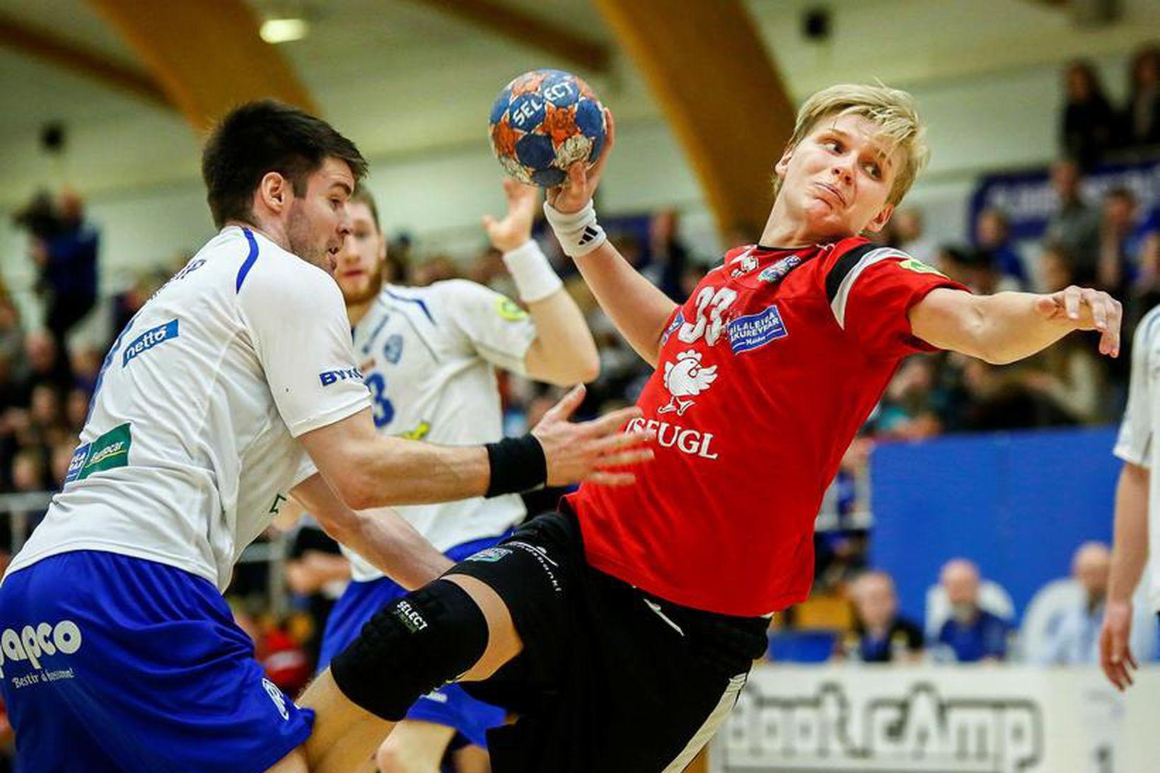 Örn Ingi Bjarkason er kominn aftur á handboltavöllinn.