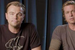Leonardo DiCaprio og Brad Pitt hvetja kjósendur til að nýta atkvæðisrétt sinn í þingkosningunum í …