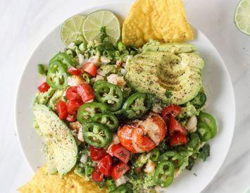 Humar, guacamole og nachos flögur – er hægt að biðja um eitthvað meira?