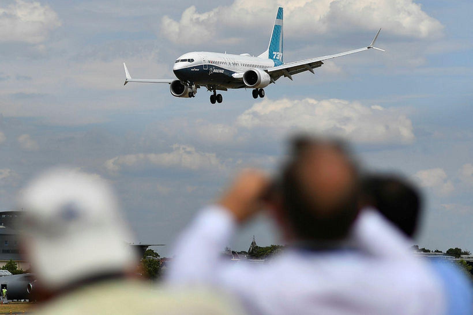 Boeing 737 MAX vélarnar hafa notið fádæma vinsælda og hafa …