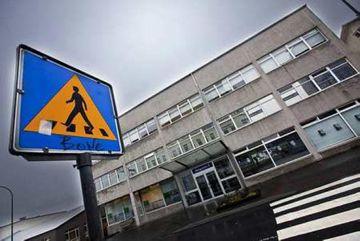 Ársfundur bankasýslu ríkisins var ekki haldinn í höfuðstöðvunum heldur í Hörpu.