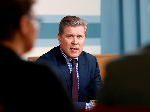 Minister of Finance Bjarni Benediktsson.