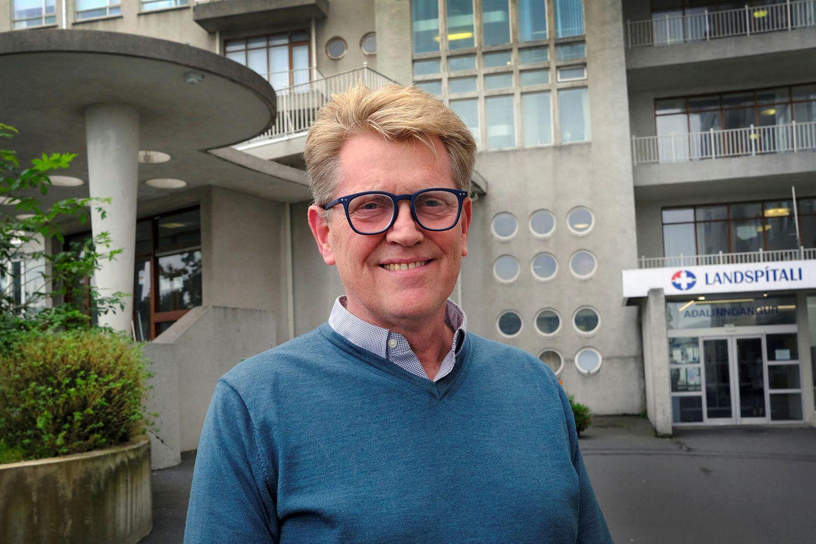 Már Kristjánsson, yfirlæknir smitsjúkdómadeildar á Landspítala.