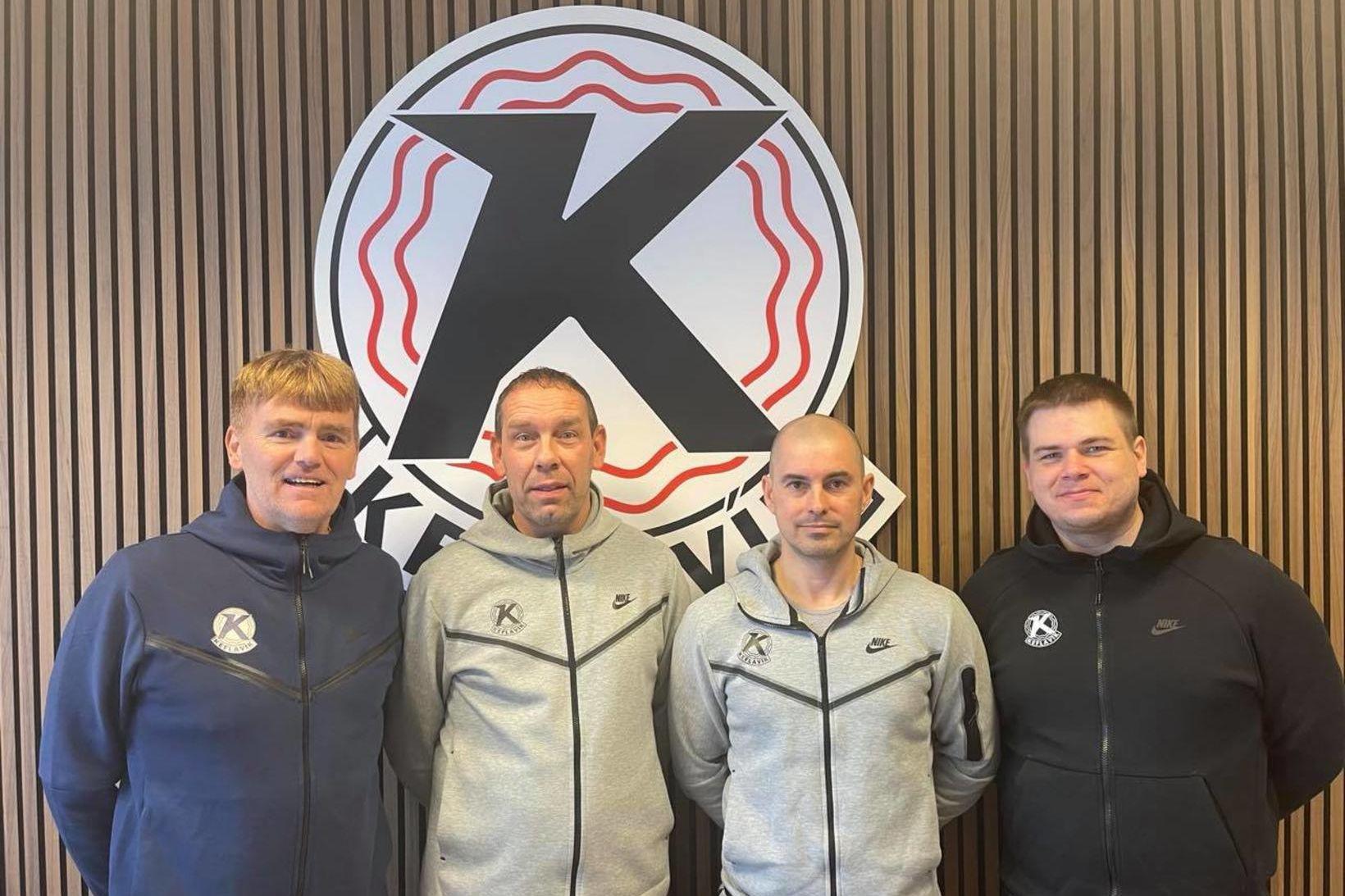 Freyr Sverrisson, Gunnar Magnús Jónsson, Hjörtur Fjeldsted og Óskar Rúnarsson. …