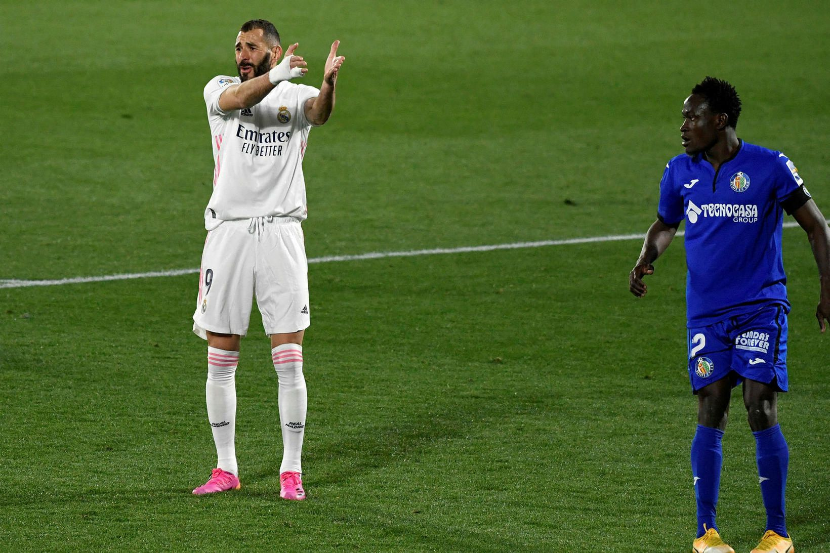 Karim Benzema tókst ekki að skora í kvöld.