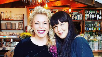 Tobba Marinós og Íris Ann Sigurðardóttir.
