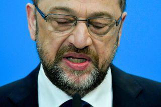 Schulz tilkynnti það í dag að hann myndi ekki taka sæti í ríkisstjórn Angelu Merkel.