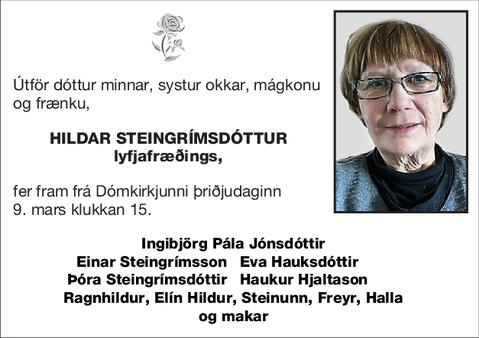 Hildar Steingrímsdóttur