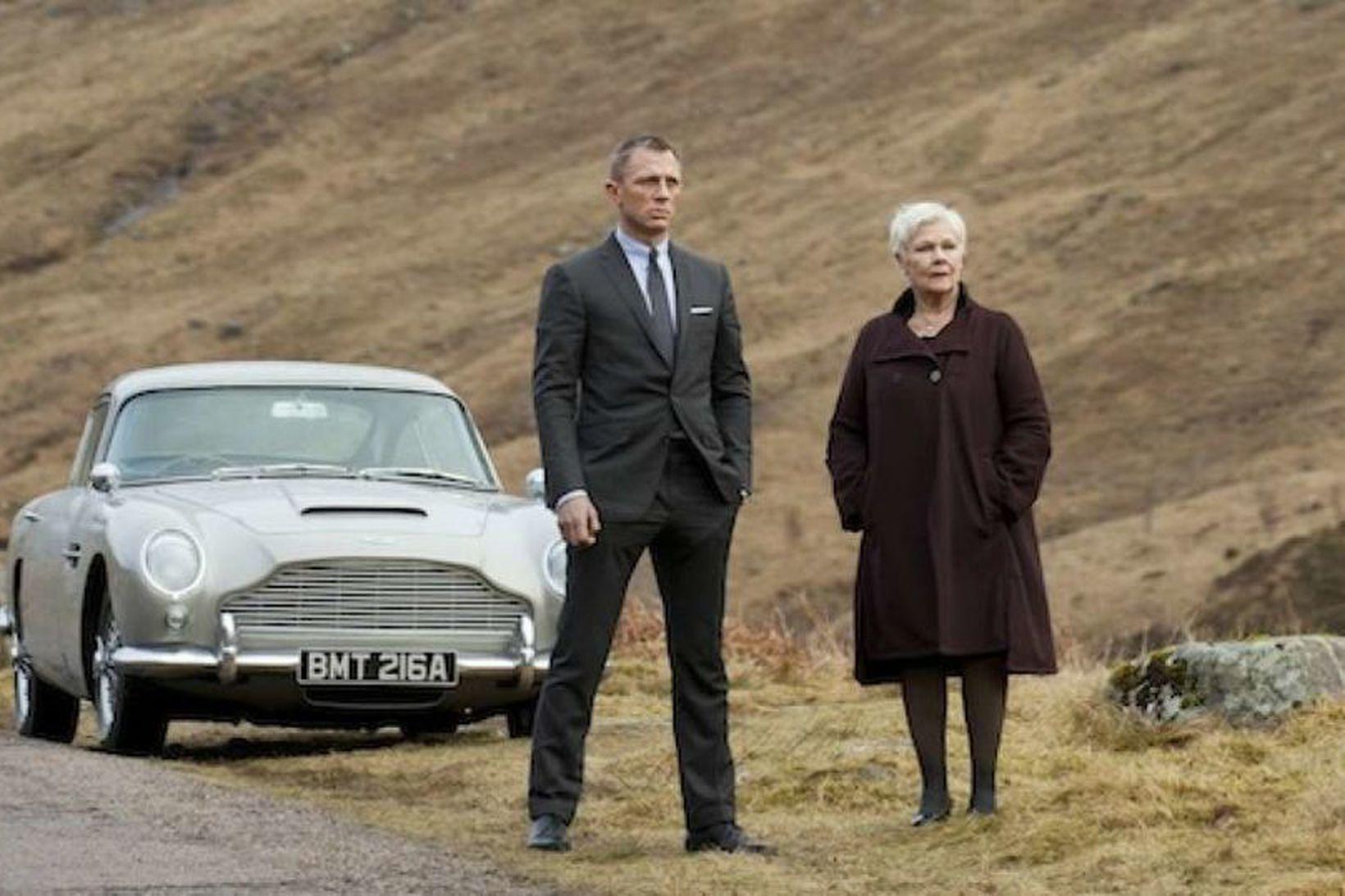 Daniel Craig og Judi Dench í Skyfall og óvistvænn Aston …