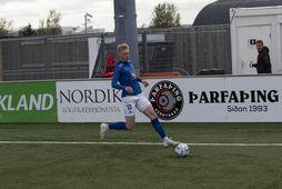 Tristan Freyr Ingólfsson átti Stjörnuleik í kvöld með Stjörnunni gegn Val, lagði upp tvö og …