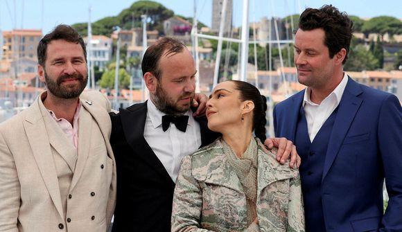 Hilmir Snær og Björn Hlynur flottir í Cannes