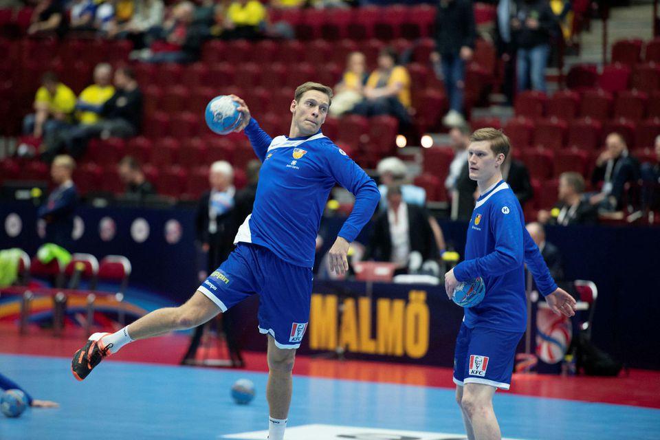 Janus Daði Smárason gerir sig kláran.