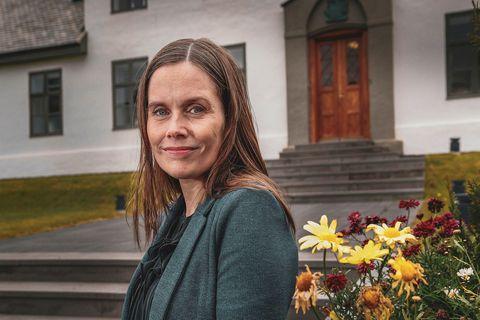 Prime Minisster Katrín Jakobsdóttir.