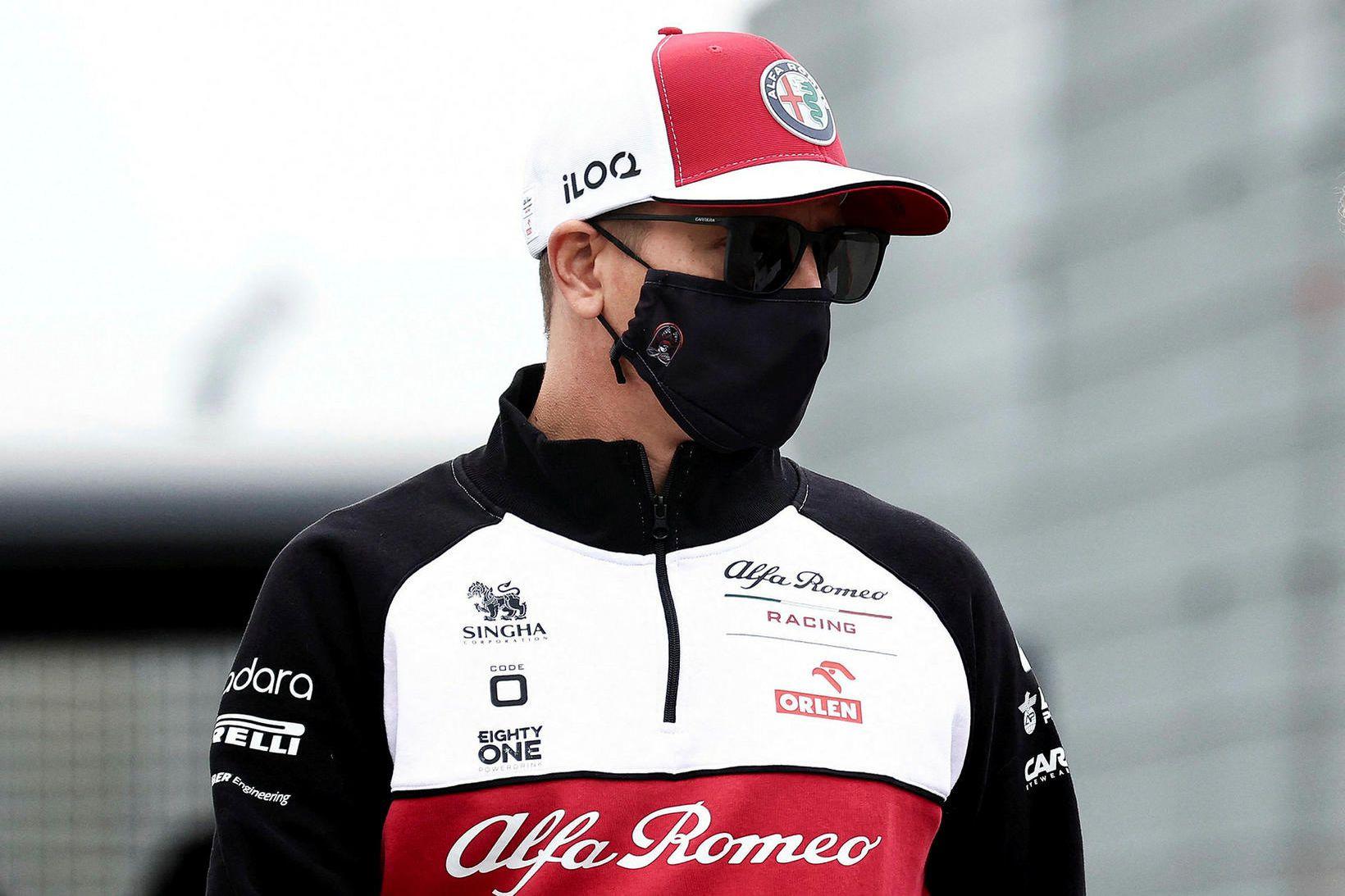 Kimi Raikkonen verður ekki með í Hollandi um helgina.
