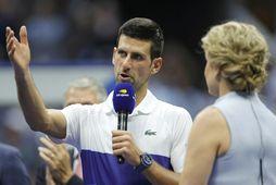 Novak Djokovic er ríkjandi meistari í einliðaleik karla á opna ástralska meistaramótinu.