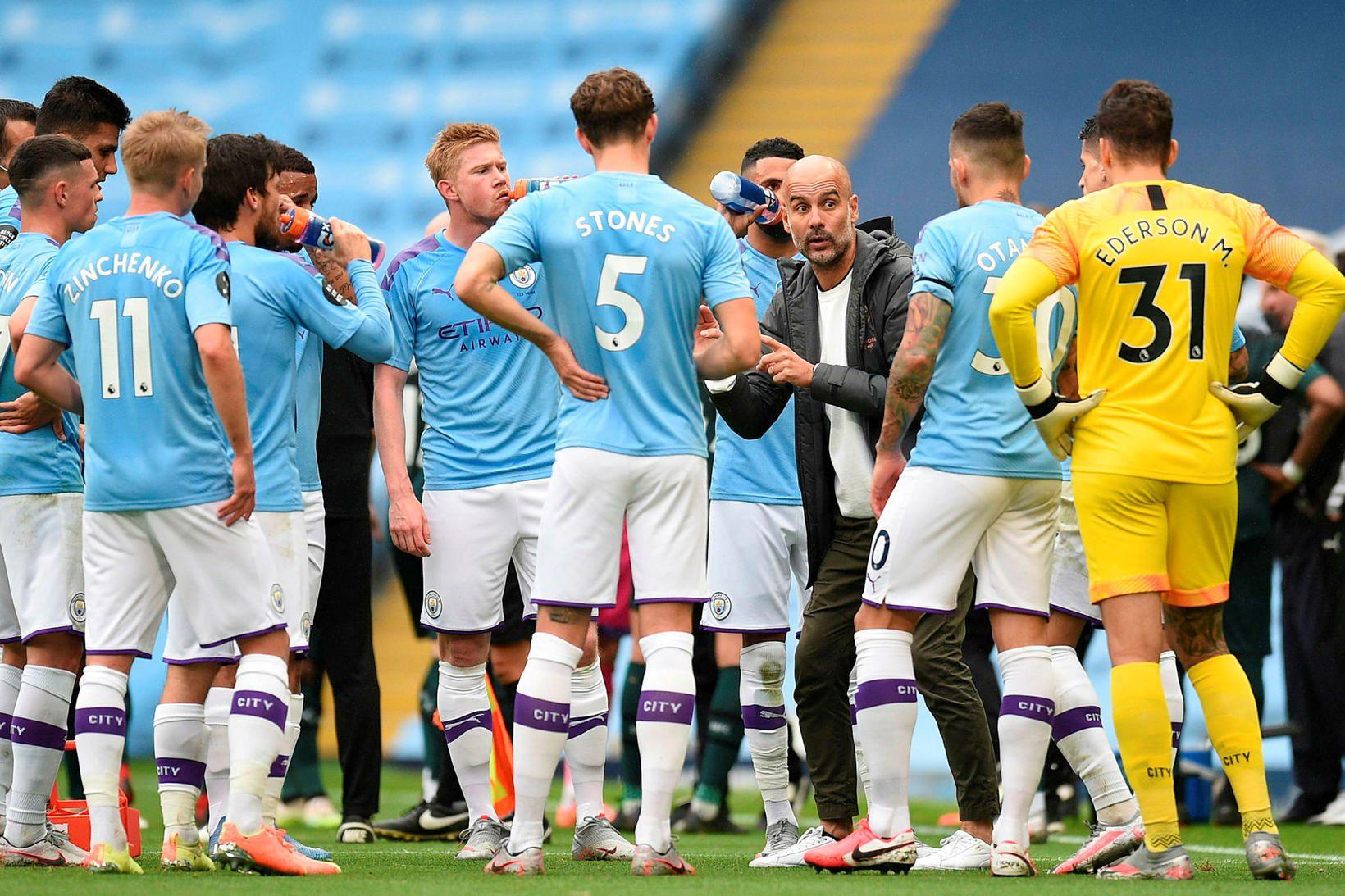 Manchester City hefur ekki byrjað tímabilið eins illa og nú …