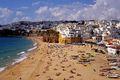 Algarve Portúgal er með langar strandlengjur. Þá hefur heimsborgin Lissabon upp á margt að bjóða.
