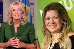 Dr. Jill Biden gaf Kelly Clarkson góð skilnaðarráð.