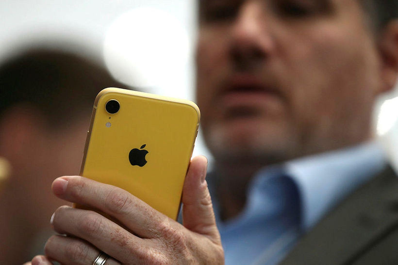Sé Krímskagi skoðaður á landakortum Apple í Rússlandi, virðist hann …