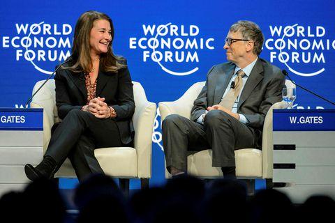 Melinda og Bill Gates árið 2015.