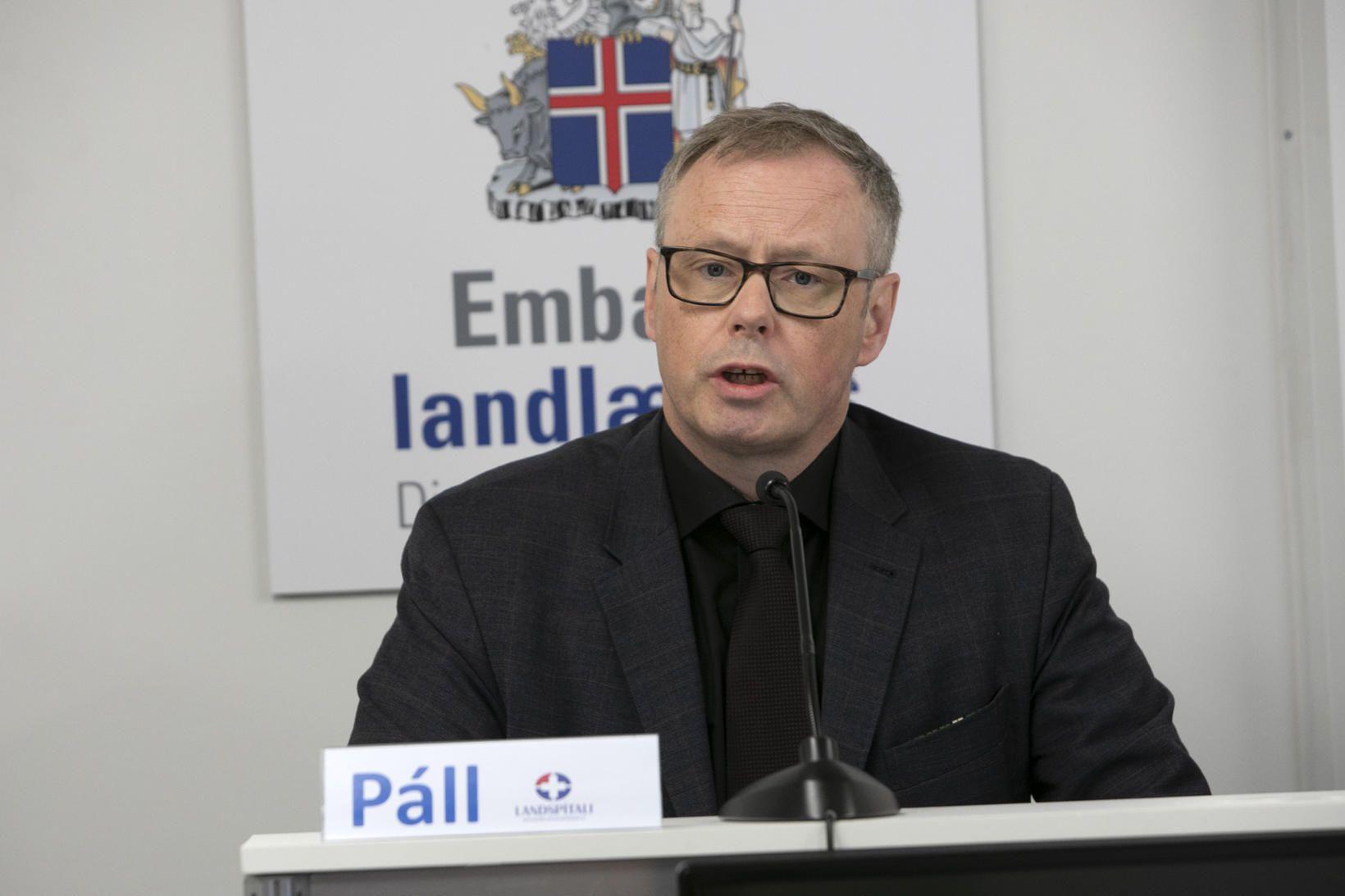 Páll Matthíasson sagði á upplýsingafundi vegna kórónuveirunnar að innkaup færu …