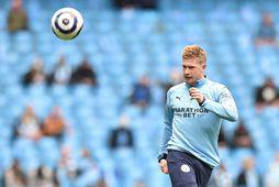 Kevin De Bruyne átti frábært tímabil með Manchester City.