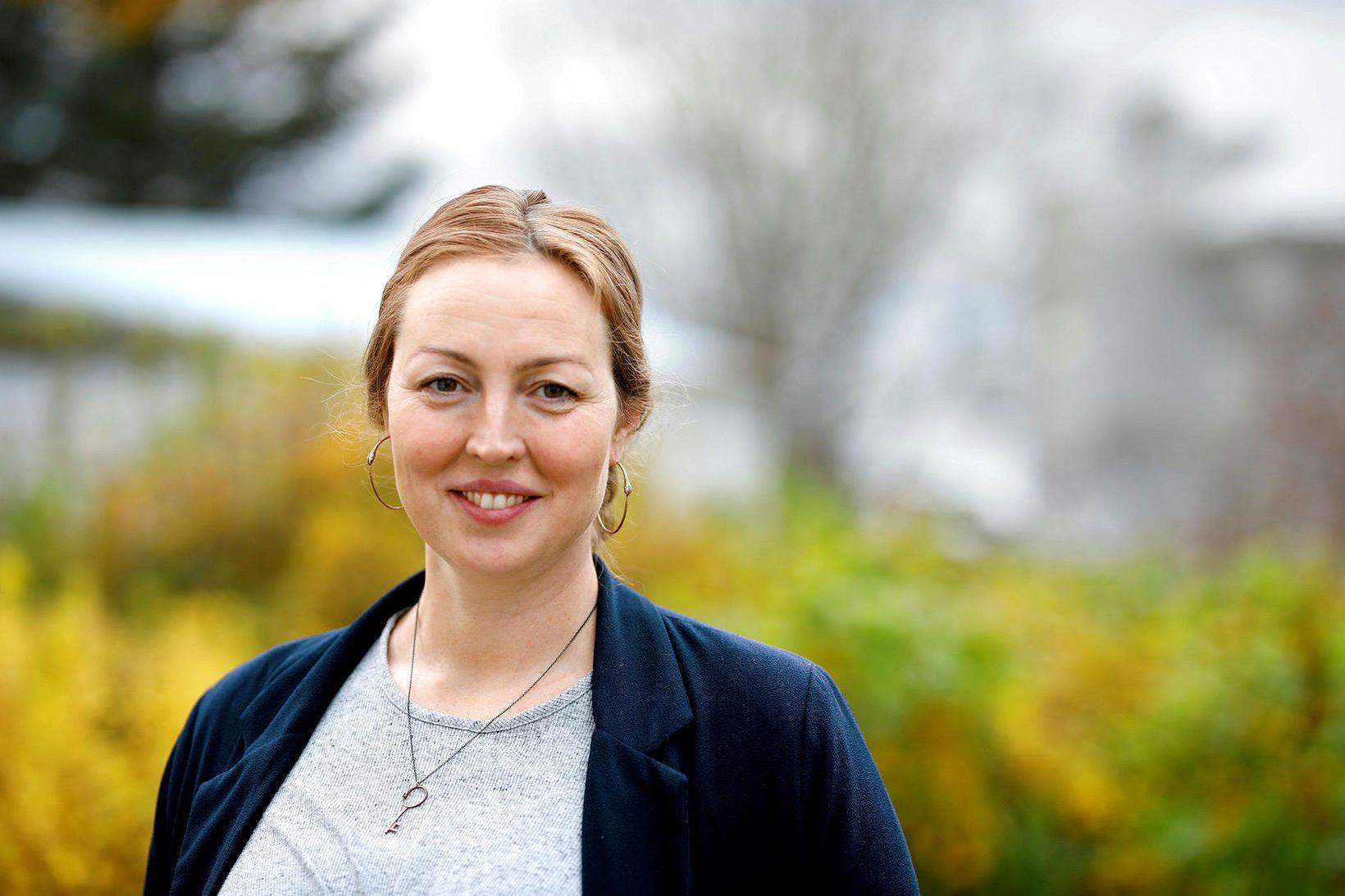 Hildur Guðný Ásgeirsdóttir verkefnastjóri hjá Embætti landlæknis.