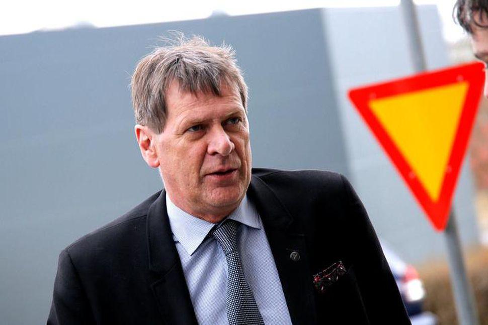 Brynjar Níelsson hafði verið orðaður við embætti dómsmálaráðherra en var ...