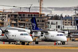 Eftir sameiningu Flugfélags Íslands og Icelandair Group er innanlandsflugið rekið undir merkjum síðarnefnda félagsins.