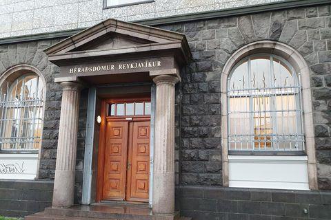 Málið var þingfest í Héraðsdómi Reykjavíkur í dag.
